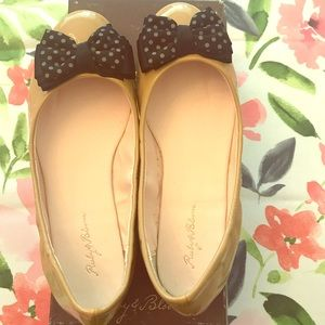 Ruby and Bloom Selsie Patent Leather Ballet Flat